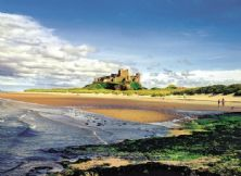 Bamburgh Castle Notecard